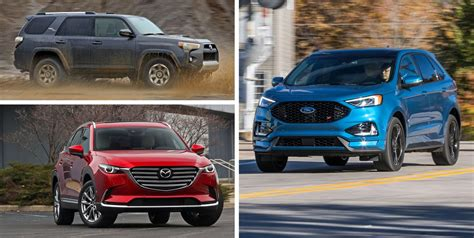 mid size crossover  suv ranked  worst