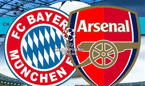 Arsenal And Bayern Munich Score