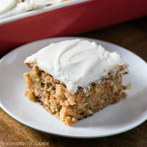 3/4 cup very hot water. Easy Carrot Snack Cake | TheBestDessertRecipes.com