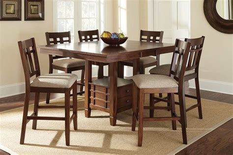 48 inch kitchen table set steve silver bolton 7 48 inch square counter height