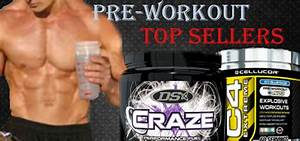 Top Selling Pre-workout Supplements For 2013
