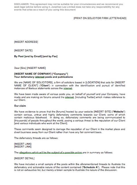 cease  desist letter  action template eloquens