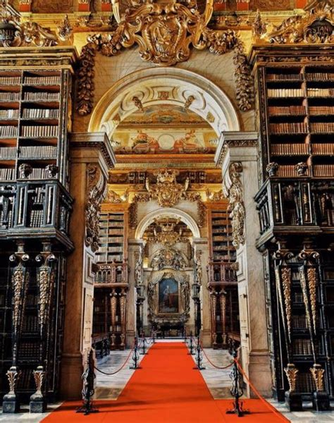 library   university  coimbra portugal photo pin