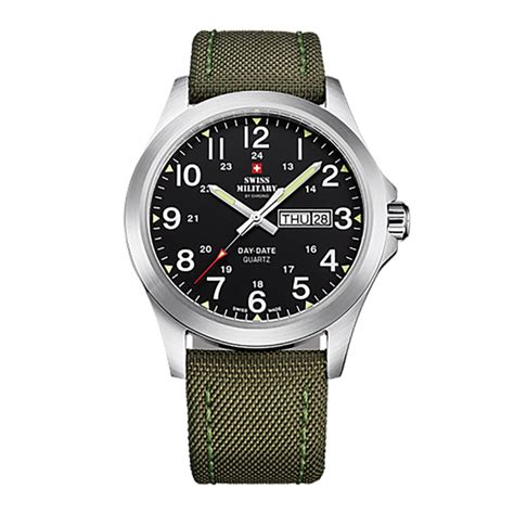 swiss army day date leather swiss by chrono gents with day date