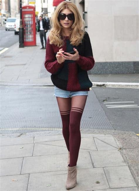 How to wear tights | Dress like a parisian