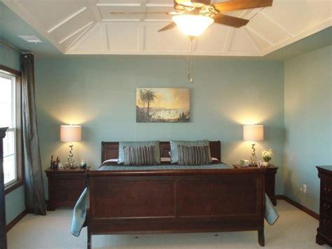 Charming Blue Interior Master Bedroom