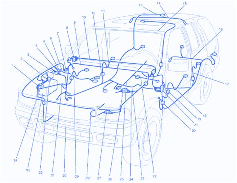 isuzu rodeo ls 1999 blower connector electrical circuit wiring diagram 187 carfusebox