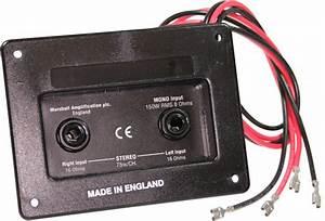 Marshall Mono Jack Plate    Amp Hardware    Hardware