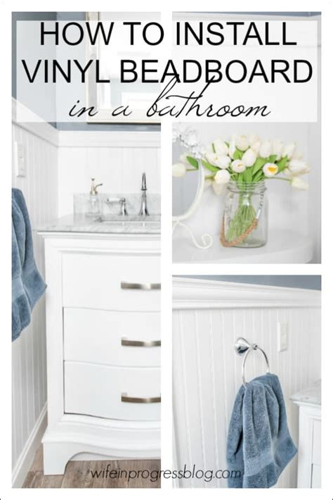 Bathroom Beadboard Diy by Beadboard In A Bathroom How To Install Your Own In An