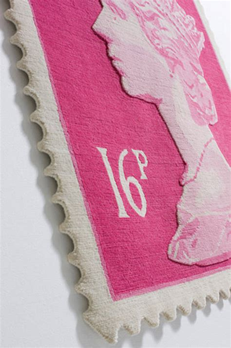Postage Stamp Rug By I Love Retro Notonthehighstreet