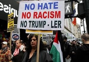 Activists in New York Protest against Trump's Anti-Muslim ...