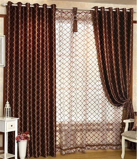 Beautiful Living Room Curtains And Drapes Contemporary