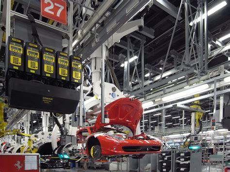 ferrari factory  assembly