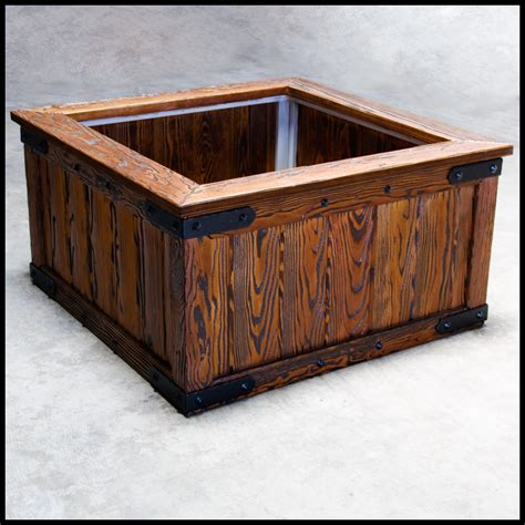 large planter box large wooden planters large wood planter boxes