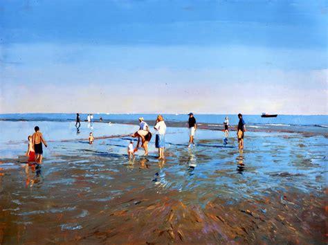 'low Tide, Brighton #2'  Jeremy Sanders Fine Artist