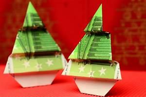Tannenbaum Falten Anleitung : geldscheine falten zu weihnachten ~ Lizthompson.info Haus und Dekorationen