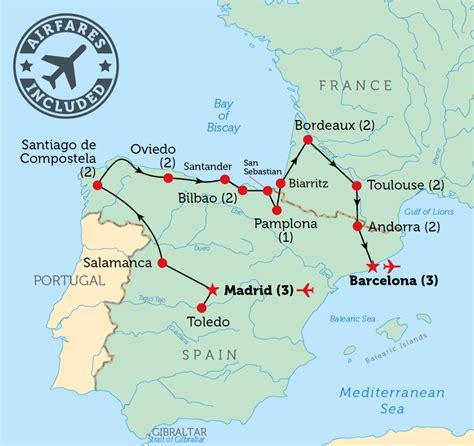 map  spain  france recana masana