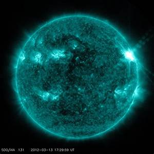 NASA - Big Sunspot Remains Active