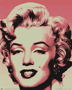 Marilyn Monroe Bilder Schwarz Weiß : marilyn monroe pop art mini poster 40x50 ~ Bigdaddyawards.com Haus und Dekorationen