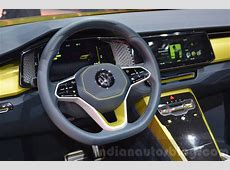 VW TCross Breeze concept steering wheel at the Geneva
