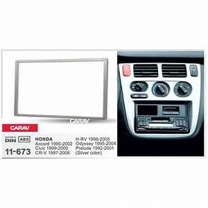 Carav 11 673 Car Radio Fascia Panel For Honda Accord 1990