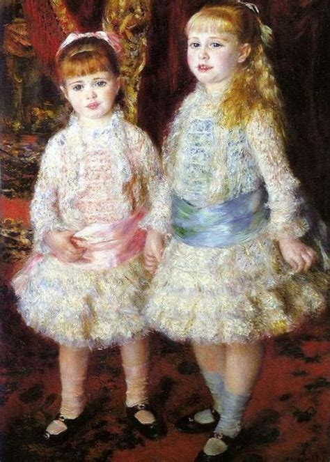 Two Sisters By Auguste Renoir 1881 Little Ones Pinterest