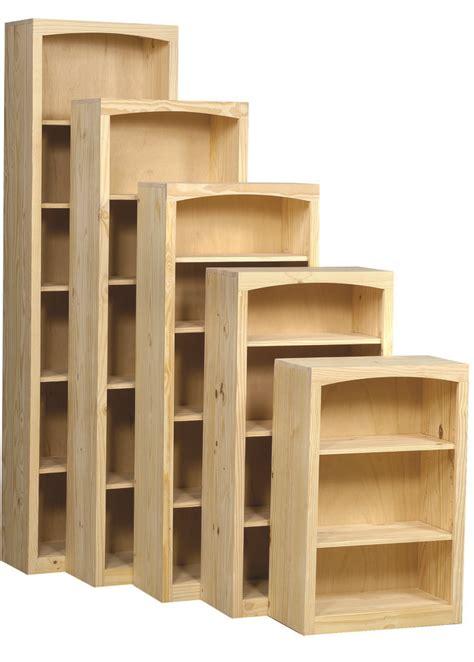 archbold furniture  wide pine bookcase oak factory