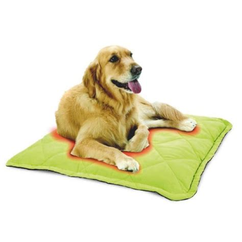 tapis auto chauffant tapis pour chien et chat oster wanimo