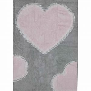 Tapis Gris Rose : tapis c ur rose gris sign aratextil chez ksl living ~ Teatrodelosmanantiales.com Idées de Décoration