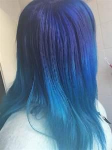 Blaue Haare Ombre : haare f rben blau scherenzauber friseur m nchen ~ Frokenaadalensverden.com Haus und Dekorationen