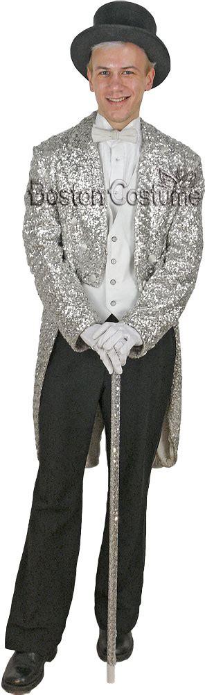 silver sequin tuxedo jacket  boston costume