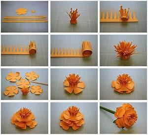 12 Step By Step DIY Papers Made Flower Craft Ideas for ...