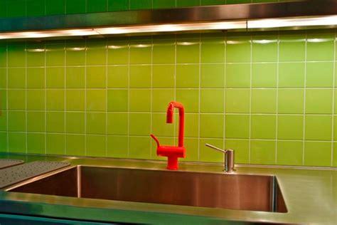 apple green kitchen backsplash eclectic kitchen