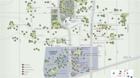 Frisco Texas Official Convention & Visitors Site  Map Of