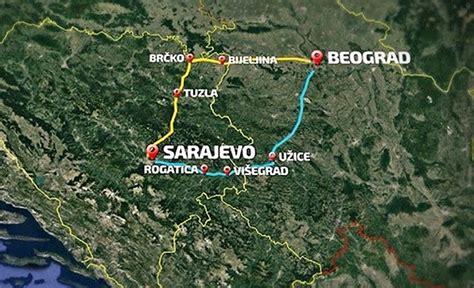 si鑒e de sarajevo projekt izgradnje brze ceste sarajevo beograd sve bliže realizaciji