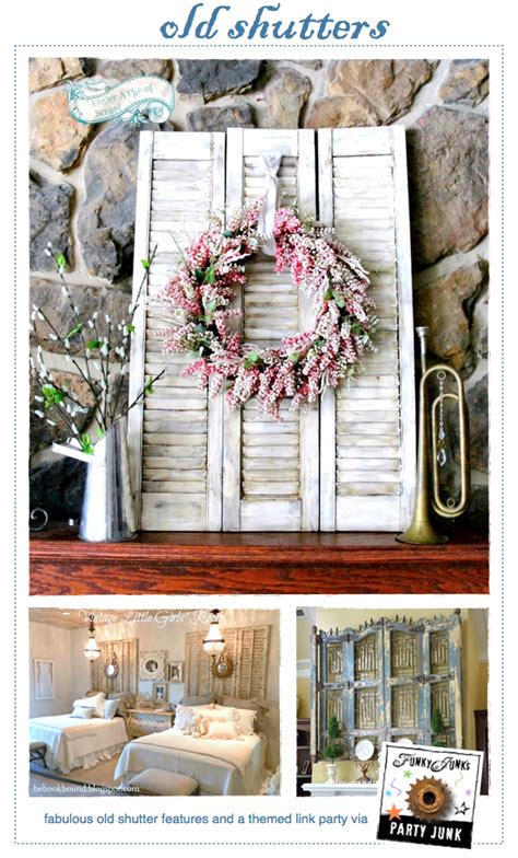Decorating Ideas For Shutters by Junk 183 Shutters Funky Junk Interiorsfunky