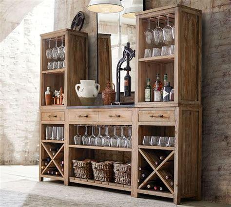 bar architects our work pottery barn parker modular bar system pottery barn