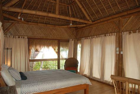 gambar desain rumahvilla bambu eksotik model desain