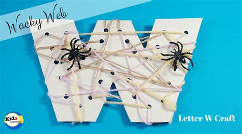 letter w crafts letter w craft for preschool kidz activities