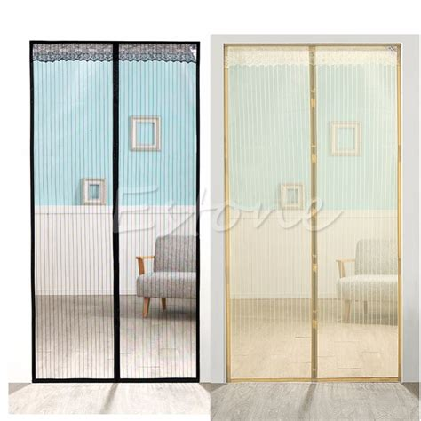Aliexpresscom  Buy Mesh Door Curtain Magic Magnetic Snap