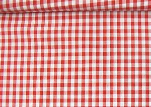 tissu vichy rouge et blanc a grands carreaux tissu au With nappe à carreaux rouge et blanc