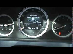 Kph To Mph : mercedes speedometer mph to kph youtube ~ Maxctalentgroup.com Avis de Voitures