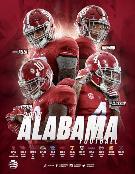 Best Alabama Football Schedule 2018 Ideas And Images On Bing