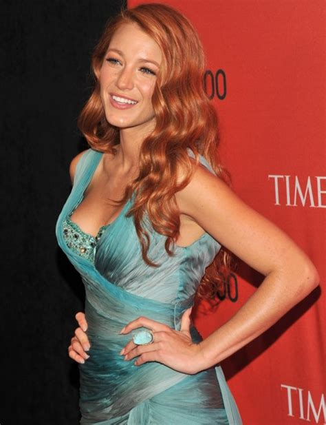 Blake Lively's Red Hair  Dresses, Shoes & More