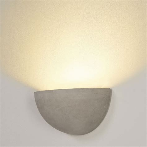 cupped concrete wall light imperial lighting