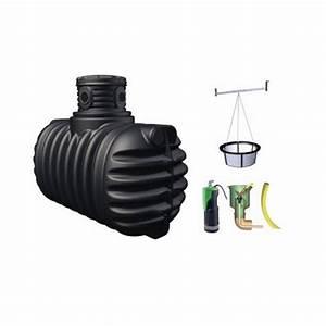 Récupérateur D Eau 1000 Litres : r cup rateur d 39 eau 4rain confort 1600 litres graf enterrer ~ Dailycaller-alerts.com Idées de Décoration