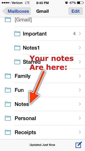 my notes on my iphone disappeared how can i retrieve the notes that disappeared from my