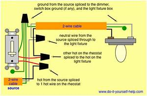 Touch Lamp Dimmer Switch Wiring Diagram