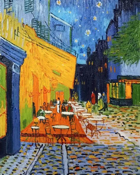 gogh cafe terrace at vincent gogh cafe terrace at painted