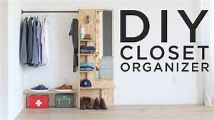 DIY Closet Organizer - YouTube